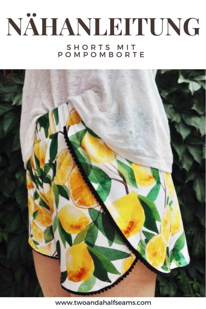 Nähanleitung Shorts