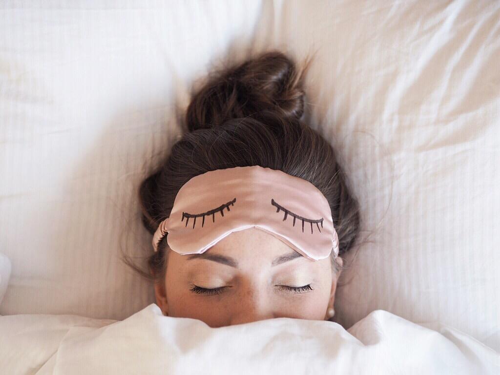 DIY Schlafmaske Sleeping mask