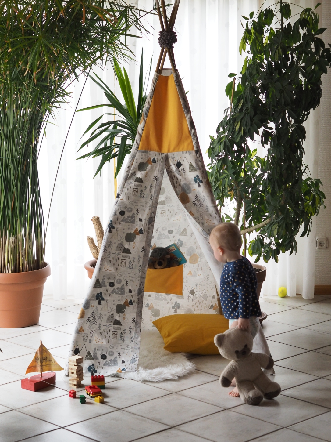 kinder tipi. Black Bedroom Furniture Sets. Home Design Ideas