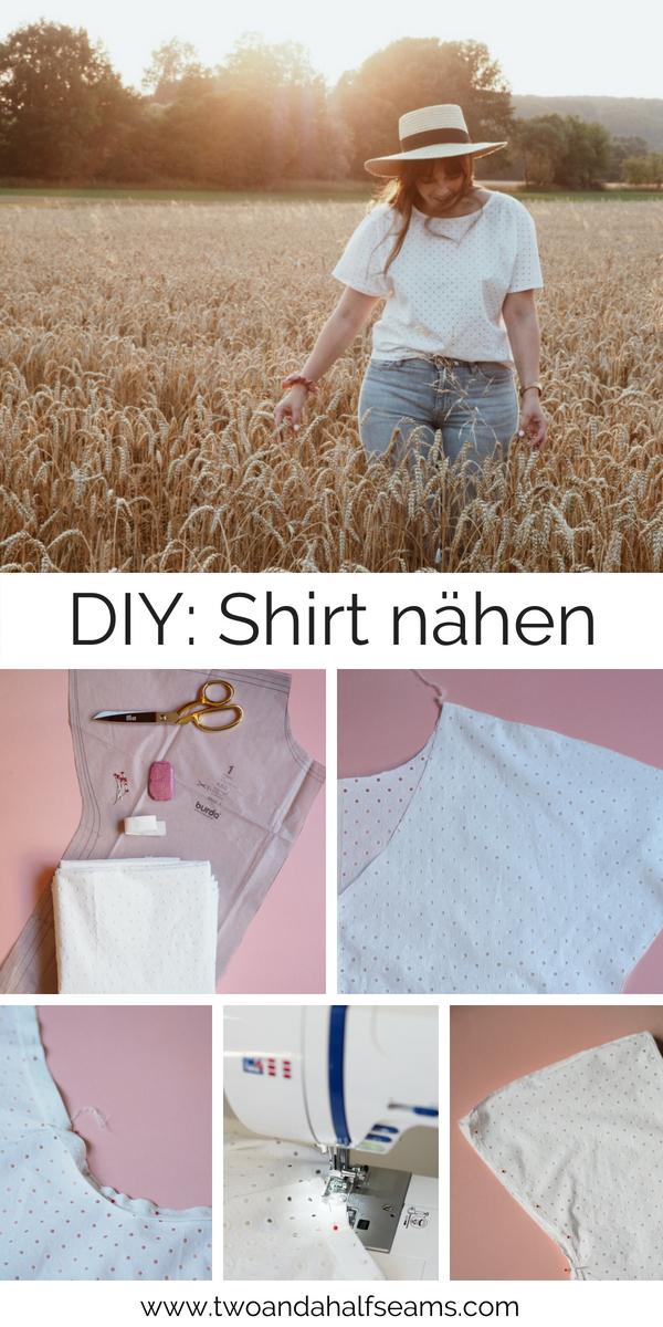 DIY Shirt Oberteil nähen