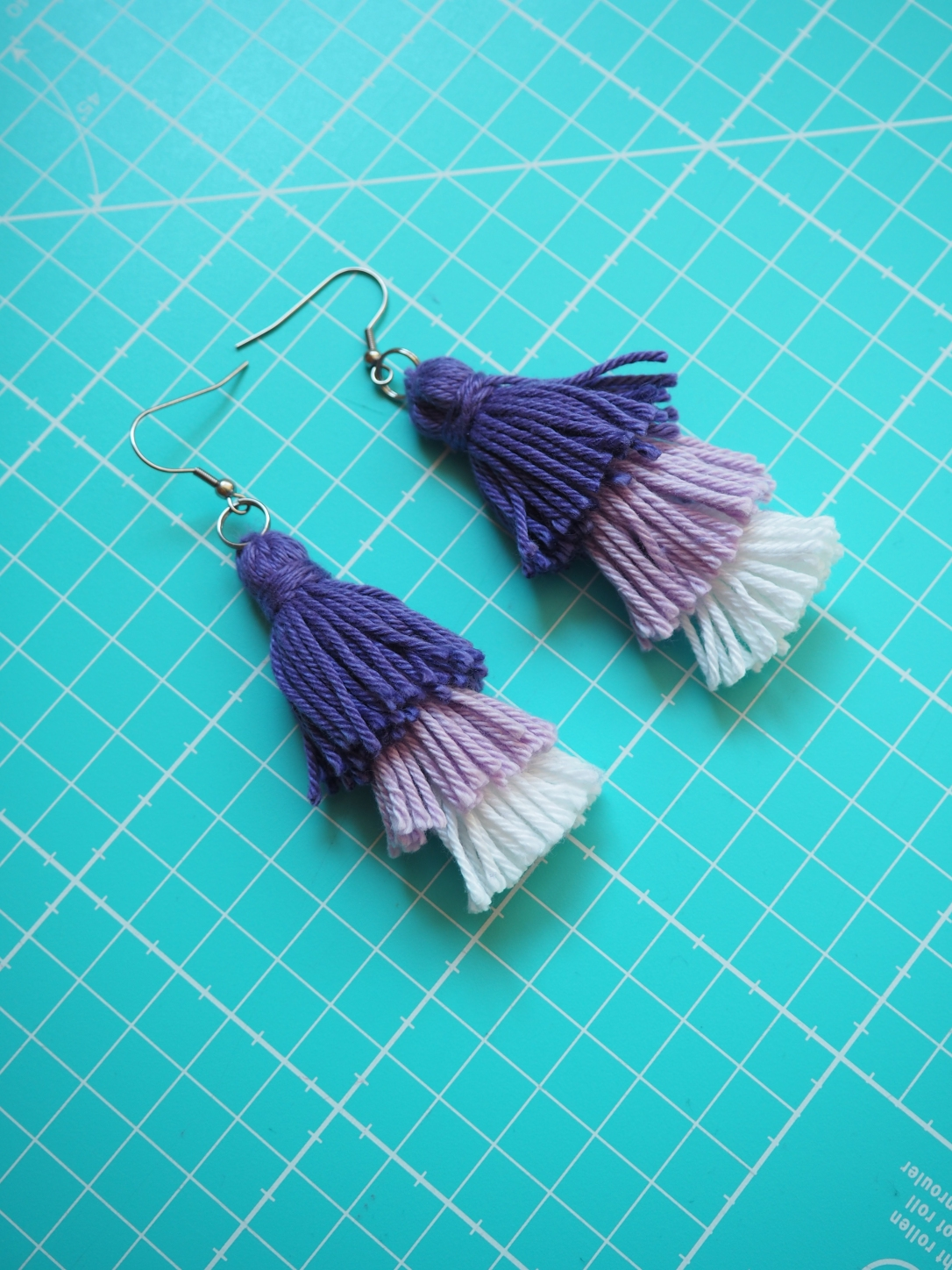 DIY Tassel Ohrringe