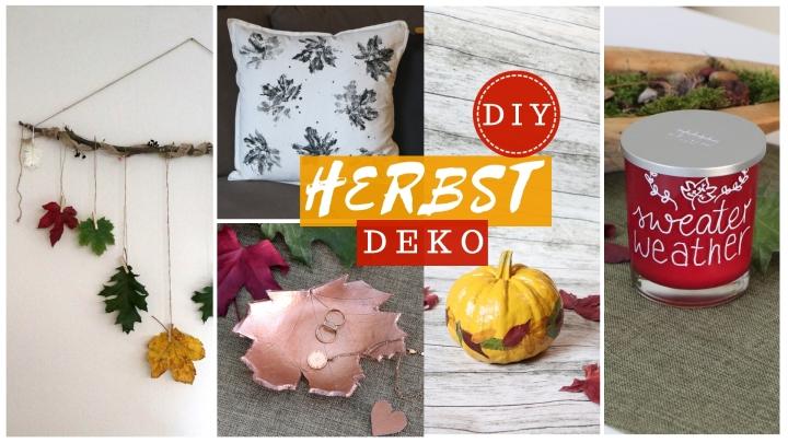 DIY Herbstdeko Ideen