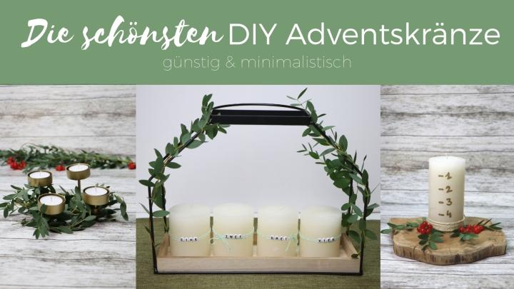 Die schönsten DIY Adventskränze