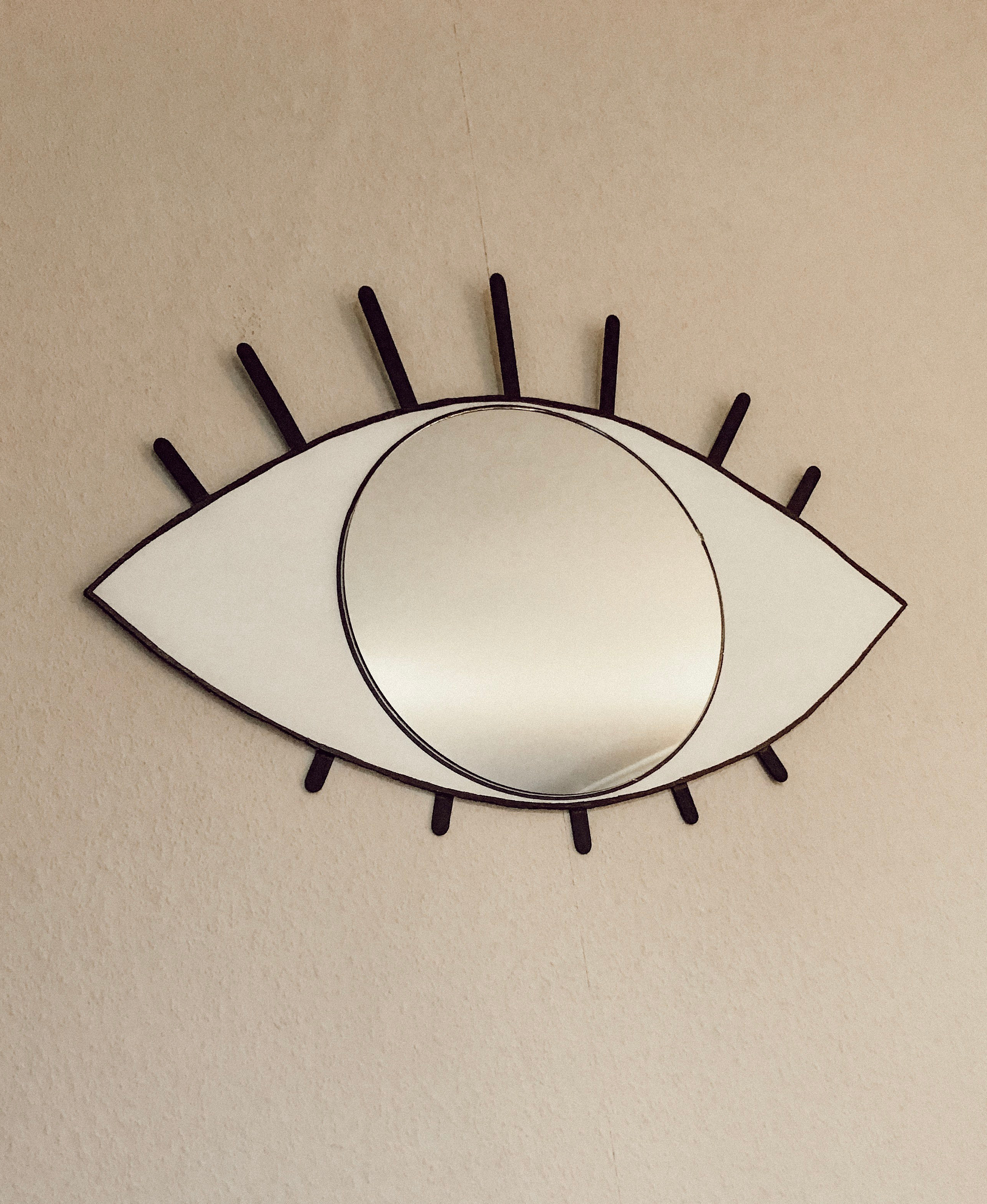diy cyclopse mirror