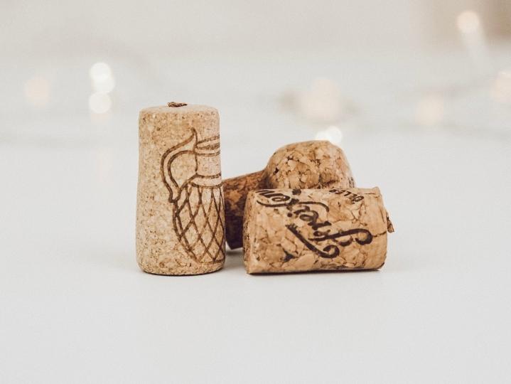 Upcycling Ohrringe aus Weinkorken