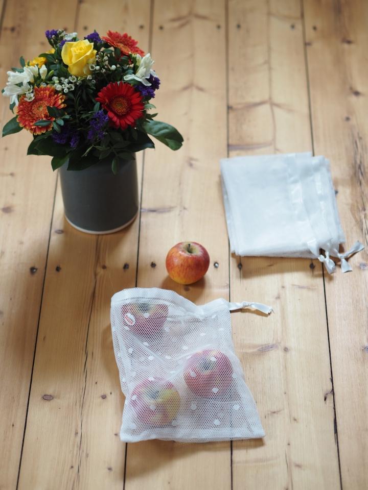 Zero Waste: Obstbeutel nähen